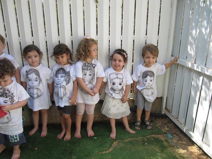 גרפיטי לילדי הגן