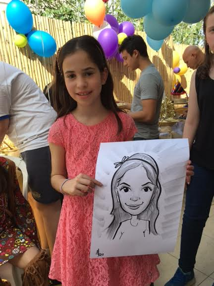 קריקטורות באירוע