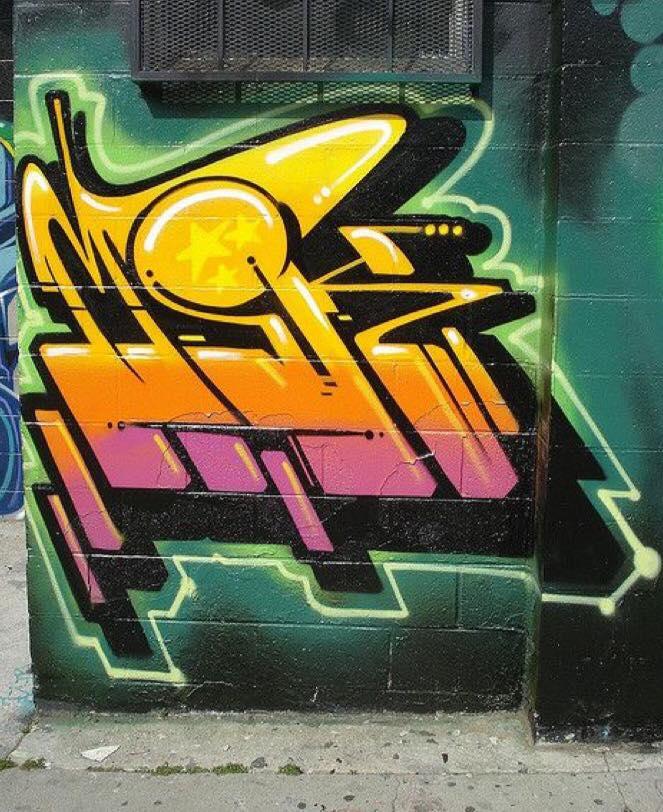 ציור קיר זוהר באולטרה