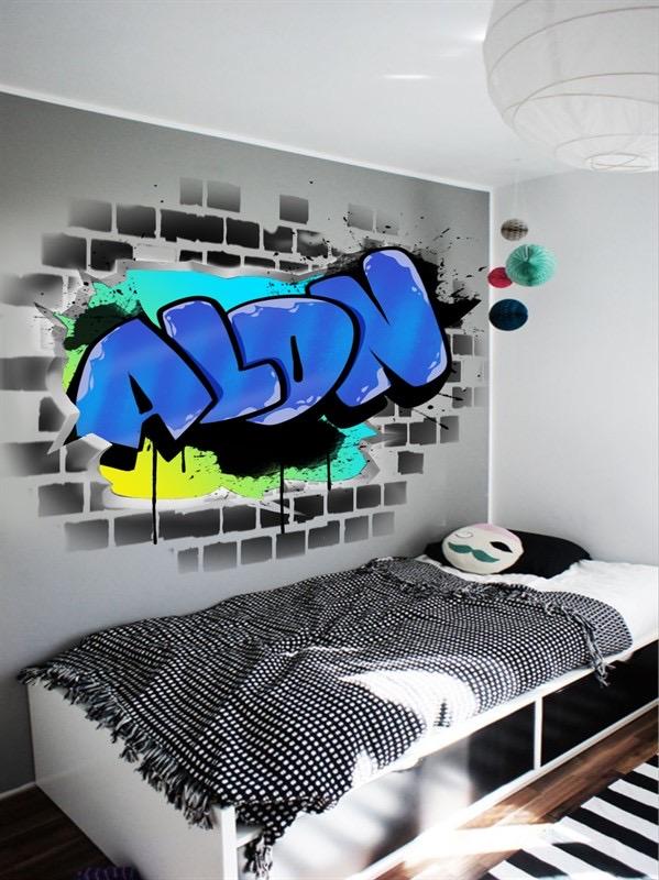 הדפסה על קיר
